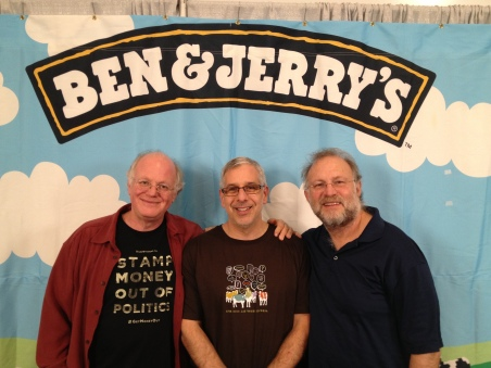 Ben, Erle and Jerry.