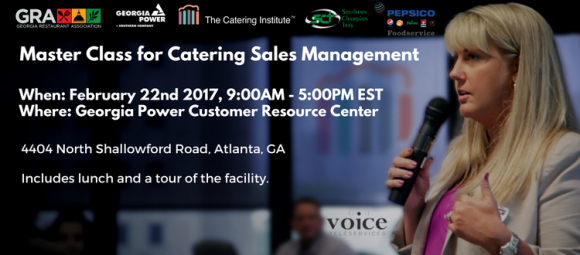 Master Class for Catering Sales Management
