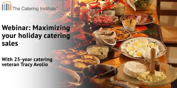 Holiday Catering Sales Webinar